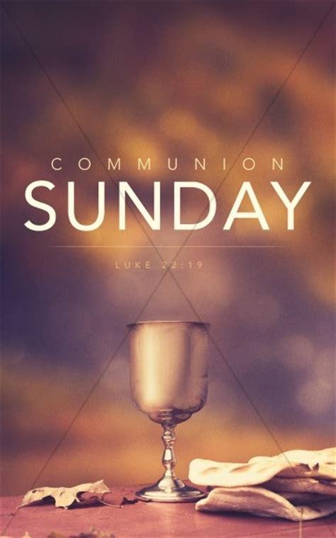 Communion Sunday Religious Bulletin   Sermon Bulletin Covers