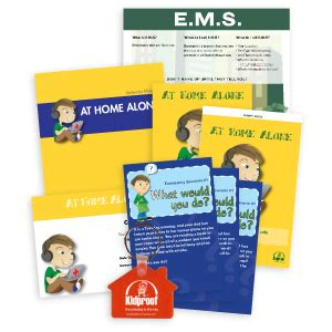 home alone safety lesson plan home plan
