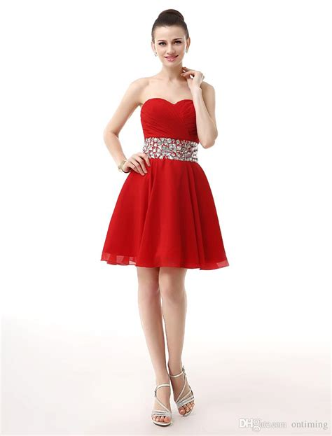vestidos de cortos rojos - Vestidos Rojos Corto