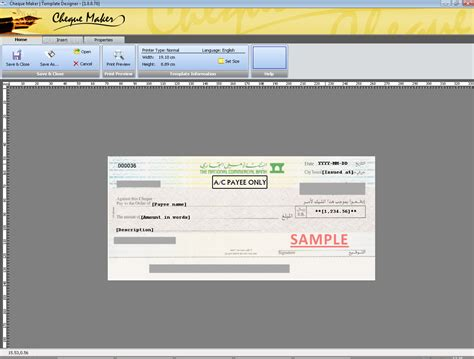 Bank Cheque Template Autos Post Check Maker Template