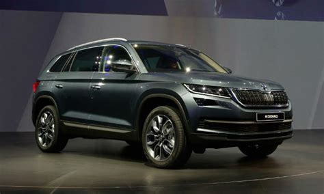 skoda kodiaq 7 seater suv launched in india