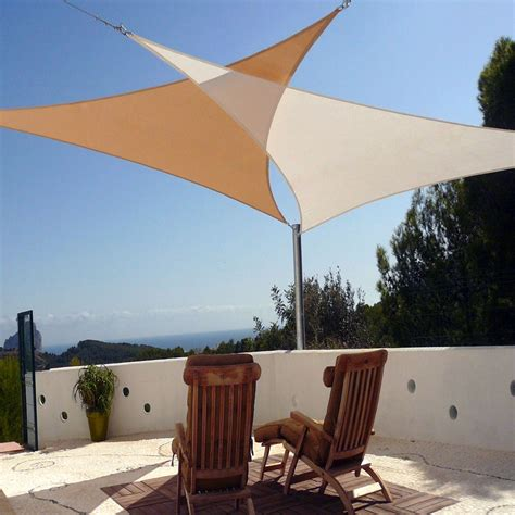 outdoor patio sail sun shade canopy patio sun shades