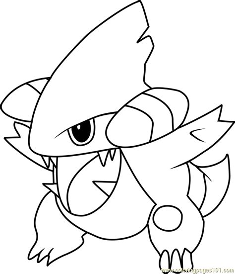 Pokemon Coloring Pages Gible | gible images pokemon images