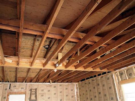 insulation for garage ceiling how to insulate garage ceiling ideas