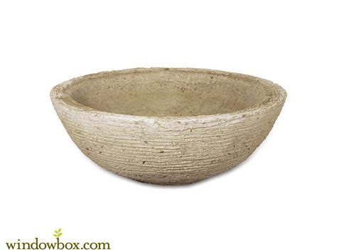 low bowl planters naturally lightweight planters contemporary low bowl