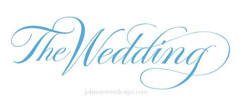 wedding font design online weddings ceremonies john stevens calligraphy