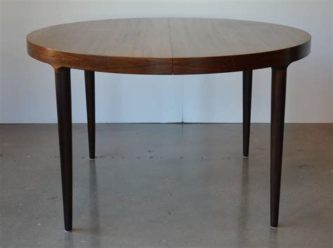 mid century or oval rosewood dining table with