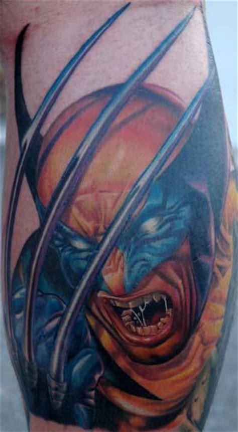 batman wolverine tattoo tattoo blog 187 comic book tattoos wolverine batman superman