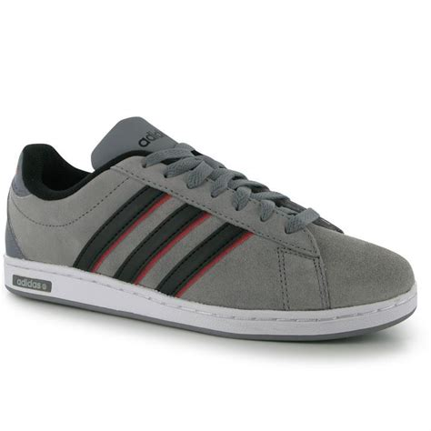 adidas mens derby suede trainers ortholite lace  casual