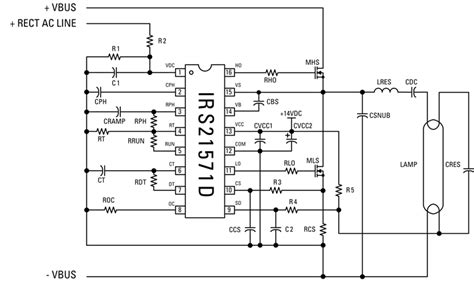 electronic choke circuit diagram circuit and schematics