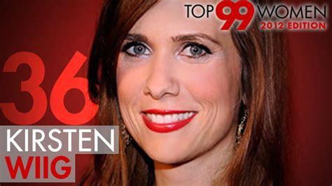 video askmen kristen wiig top 99 2012 askmen