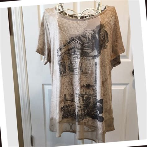 Get And Beyonces Look With This Embellished Hem Top by 26 Style Co Tops Embellished European