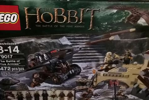 Lego 79017 The Hobbit The Battle Of Five Armies 79017 the battle of the five armies lego brickforce