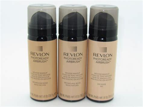 Revlon Foto Ready revlon photo ready air brush mousse makeup review