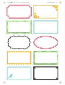 printable labels free online printable labels from saltandpaper com labels free