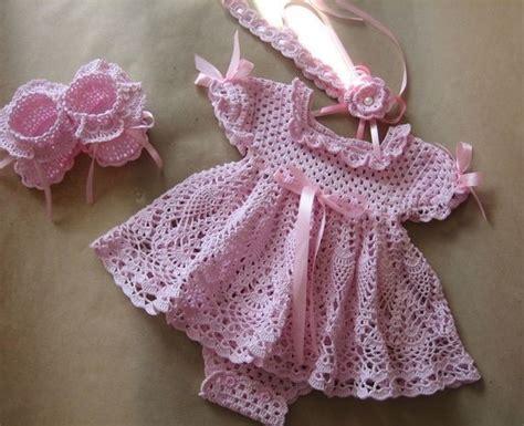 crochet pattern pink girl dress crochet patterns free baby girl manet for