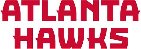 Softball Wall Stickers atlanta hawks 2016 pres wordmark logo diy decals stickers