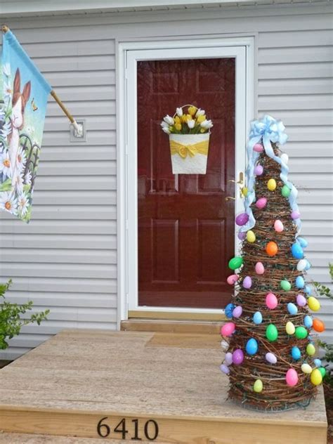 Easter Yard Wood On Door Top 22 Cutest Diy Easter Decorating Ideas For Front Yard