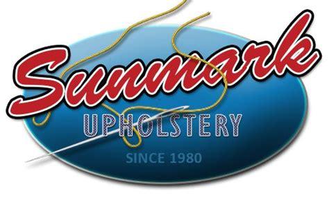 sunmark upholstery sunmark upholstery logo boat decor pinterest