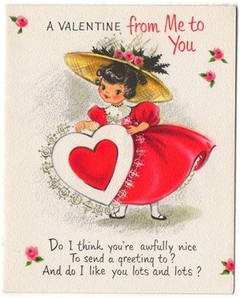 valentines hallmark cards vintage greeting card hallmark