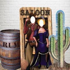 Wild West Life Size Cardboard Cutouts   Partyrama