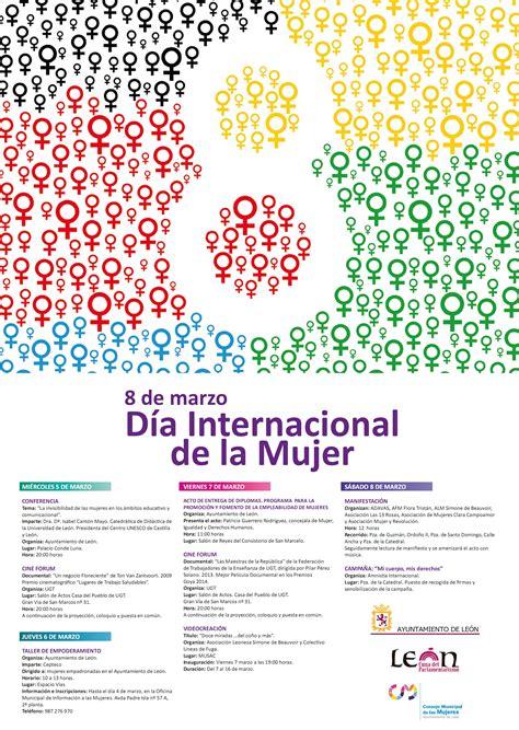 ocho daas de marzo actos en le 243 n entorno al 8 de marzo d 237 a internacional de las asociaci 243 n leonesa