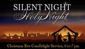 light service upcoming events candlelight service