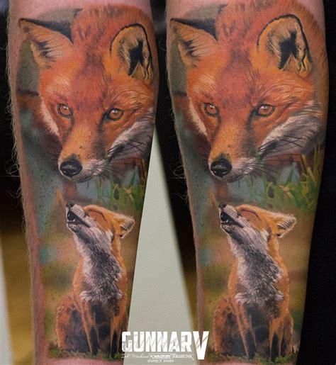 cute fox sleeve best tattoo ideas amp designs tats