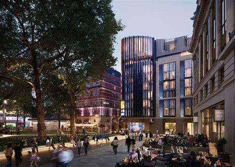 designboom london woods bagot plans hotel for leicester square london