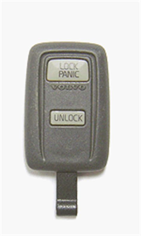 program volvo  remote control key fob