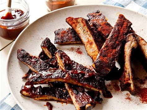 food network country style ribs neely s bbq pork spare ribs recipe powder sauces and