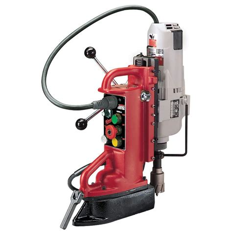 Pres Motor milwaukee electro magnetic adjustable position drill press with 3 morse motor 4208 1 the