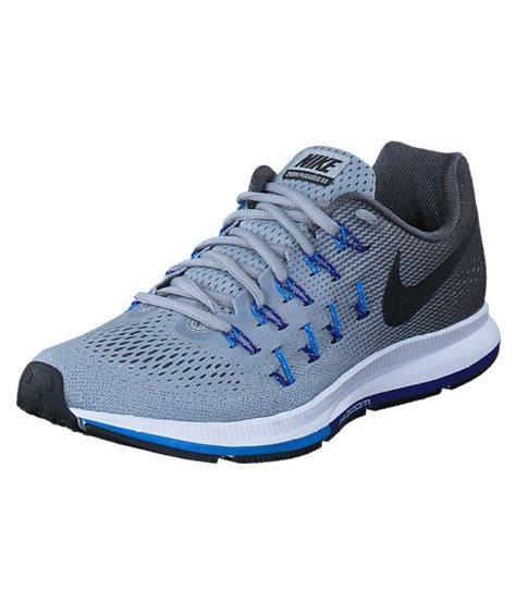 nike 1 pegasus 33 grey blue running shoes buy nike 1