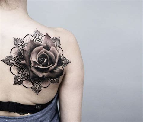 70 Rose Tattoos That Will Make You Reallllly Want A Rose Tattoos Of Roses Pictures