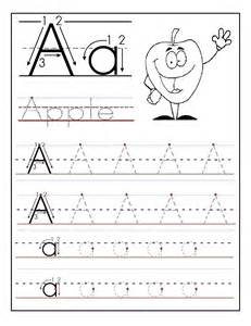 kids worksheet abc tracing to learn writing loving printable