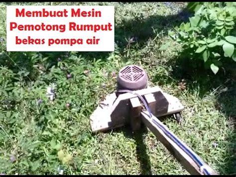 Dudukan Senar Potong Rumput membuat mesin potong rumput sendiri ternyata mudah banget
