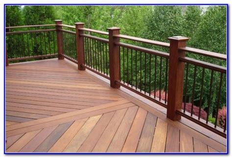 wrought iron  wood deck railing decks home decorating ideas rvjldjq