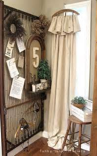 Drop Cloth Slipcover Diy Old Bedspring For Display Unit Amp 50 Things To Make From