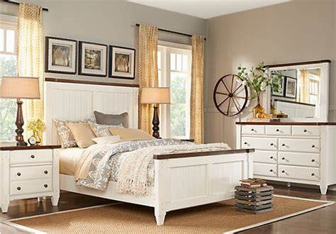 miami 5 pc bedroom set white bedroom sets esf miami set 0 cottage town white 5 pc queen panel bedroom traditional