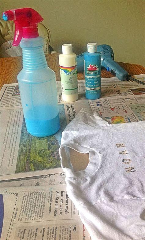 acrylic paint on clothes 17 best ideas about acrylic spray paint on