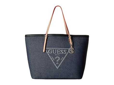 Tas Guess Delaney Denim Bag guess purses handbags satchels clutches totes bags