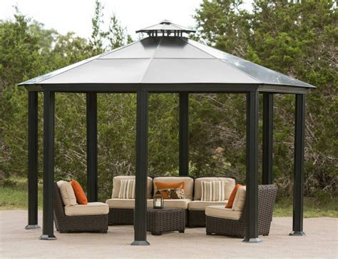 pavillon metall stabil 34 metal gazebo ideas to enhance your yard and garden with