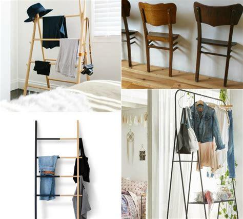 schlafzimmer ideen alternativ kleiderablage im schlafzimmer 18 alternativen zum