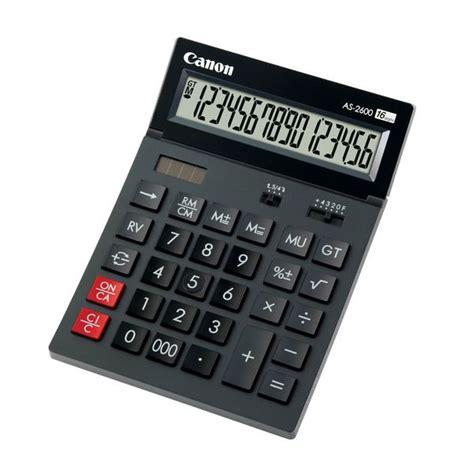 Deli Calculator 16 Digits E39265 canon 16 digit calculator as 2600