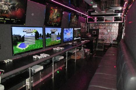 windy city game theater video game truck kids birthday