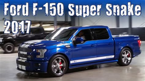 2017 Ford F 150 Shelby Super Snake Muscle Truck   YouTube