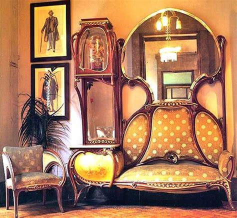 art nouveau design style influences furniture interiors interior decorating ideas influenced by design style modern