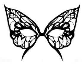 Butterfly Mask Template by Butterfly Mask Template By Michanxxxsakura On Deviantart