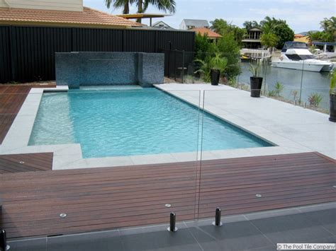 Curved Patio Pavers Light Grey Granite Pool Tiles And Pavers