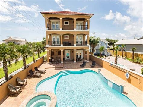 10 bedroom beach vacation rentals luxurious crystal palace in destin private vrbo